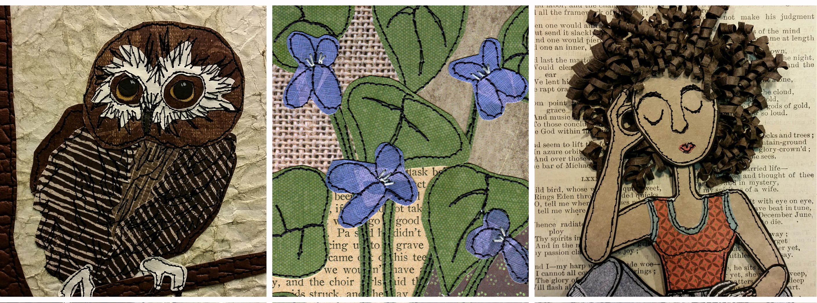 Paper and Stitch: Mixed Media Creations